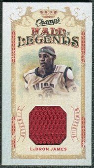 2009/10 Upper Deck Champ's Hall of Legends Memorabilia #HLLJ LeBron James