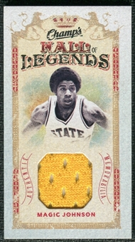 2009/10 Upper Deck Champ's Hall of Legends Memorabilia #HLMG Magic Johnson