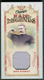 2009/10 Upper Deck Champ's Hall of Legends Memorabilia #HLMS Mike Schmidt
