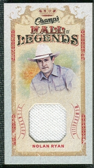 2009/10 Upper Deck Champ's Hall of Legends Memorabilia #HLNR Nolan Ryan