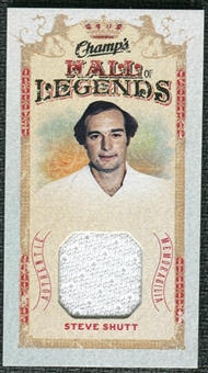 2009/10 Upper Deck Champ's Hall of Legends Memorabilia #HLSS Steve Shutt