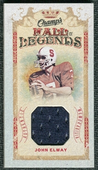 2009/10 Upper Deck Champ's Hall of Legends Memorabilia #HLEW John Elway