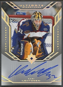 2004/05 Ultimate Collection #USKL Kari Lehtonen Signatures Auto
