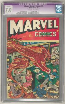 Marvel Mystery Comics #65 CGC Apparent 7.0 Restored (Slight C-1) (C-OW) *1332812008*