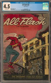 All-Flash #29 CGC 4.5 (OW) *1332837001*