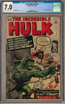 Incredible Hulk #5 CGC 7.0 (C-OW) *1332847013*