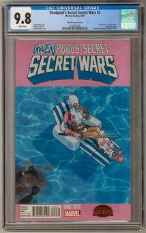 Deadpool's Secret Secret Wars #2 CGC 9.8 (W) *1332852001*