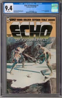 Echo of Futurepast #1 CGC 9.4 (W) *1332873004*