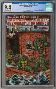 Teenage Mutant Ninja Turtles #1 CGC 9.4 (OW-W) *1332884004*