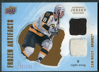 2008/09 Upper Deck Artifacts Frozen Artifacts Dual #FADCN Cam Neely /199
