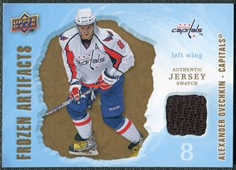 2008/09 Upper Deck Artifacts Frozen Artifacts Retail #FAAO Alexander Ovechkin