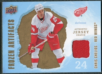 2008/09 Upper Deck Artifacts Frozen Artifacts Retail #FACH Chris Chelios
