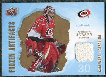2008/09 Upper Deck Artifacts Frozen Artifacts Retail #FACW Cam Ward