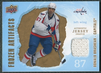 2008/09 Upper Deck Artifacts Frozen Artifacts Retail #FADB Donald Brashear