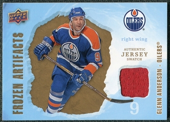 2008/09 Upper Deck Artifacts Frozen Artifacts Retail #FAGA Glenn Anderson