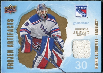 2008/09 Upper Deck Artifacts Frozen Artifacts Retail #FAHL Henrik Lundqvist