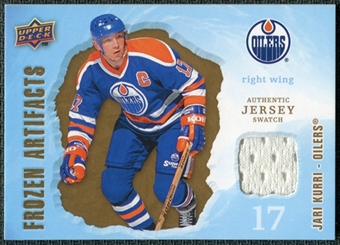 2008/09 Upper Deck Artifacts Frozen Artifacts Retail #FAJK Jari Kurri