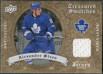 2008/09 Upper Deck Artifacts Treasured Swatches Retail #TSAS Alexander Steen
