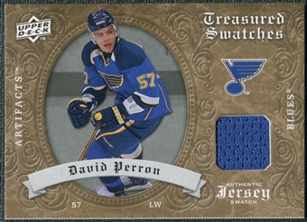 2008/09 Upper Deck Artifacts Treasured Swatches Retail #TSDP David Perron