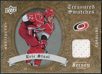 2008/09 Upper Deck Artifacts Treasured Swatches Retail #TSES Eric Staal