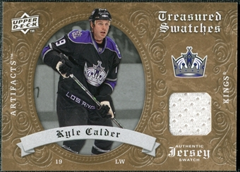 2008/09 Upper Deck Artifacts Treasured Swatches Retail #TSKC Kyle Calder