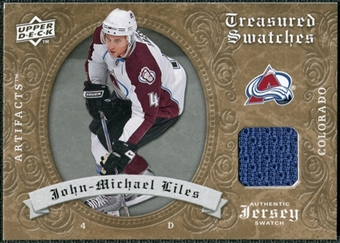 2008/09 Upper Deck Artifacts Treasured Swatches Retail #TSLI John-Michael Liles