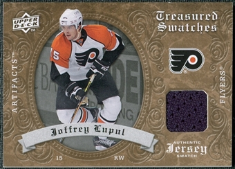 2008/09 Upper Deck Artifacts Treasured Swatches Retail #TSLU Joffrey Lupul