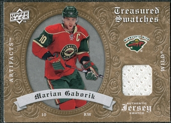 2008/09 Upper Deck Artifacts Treasured Swatches Retail #TSMG Marian Gaborik