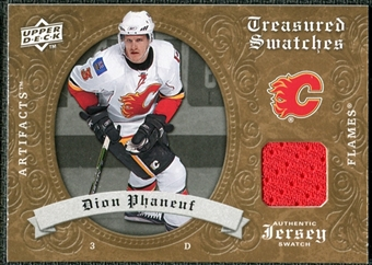 2008/09 Upper Deck Artifacts Treasured Swatches Retail #TSPH Dion Phaneuf