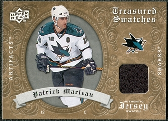 2008/09 Upper Deck Artifacts Treasured Swatches Retail #TSPM Patrick Marleau