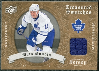 2008/09 Upper Deck Artifacts Treasured Swatches Retail #TSSU Mats Sundin