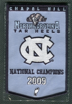 2010/11 Upper Deck UNC North Carolina Basketball 2009 Championship Mini-Banner
