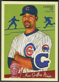2008 Upper Deck Goudey Memorabilia #DL Derrek Lee