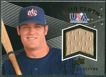 2008 Upper Deck USA Baseball Camo Cloth Jerseys #CC6 Logan Forsythe