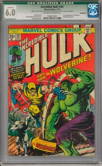 Incredible Hulk #181 CGC 6.0 Qualified (OW-W) *1336411001*