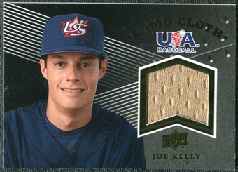 2008 Upper Deck USA Baseball Camo Cloth Jerseys #CC9 Joe Kelly