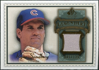 2009 Upper Deck SP Legendary Cuts Legendary Memorabilia #RS Ryne Sandberg /125