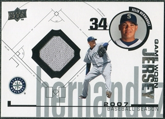 2008 Upper Deck UD Game Materials 1998 #FH Felix Hernandez