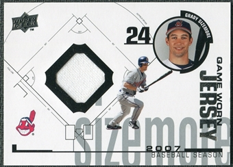 2008 Upper Deck UD Game Materials 1998 #GS Grady Sizemore