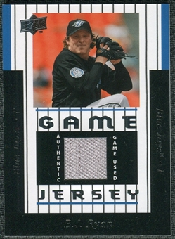 2008 Upper Deck UD Game Materials 1997 #BR B.J. Ryan
