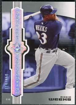 2007 Upper Deck Ultimate Collection #27 Rickie Weeks /450