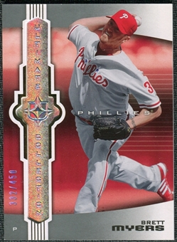 2007 Upper Deck Ultimate Collection #34 Brett Myers /450