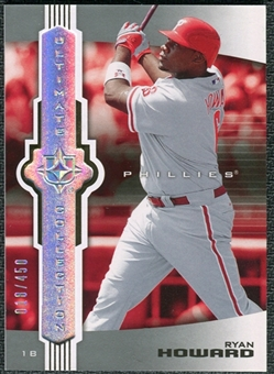 2007 Upper Deck Ultimate Collection #36 Ryan Howard /450