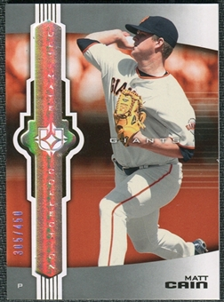 2007 Upper Deck Ultimate Collection #43 Matt Cain /450