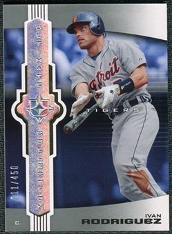 2007 Upper Deck Ultimate Collection #66 Ivan Rodriguez /450