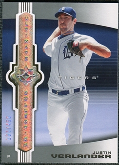 2007 Upper Deck Ultimate Collection #67 Justin Verlander /450