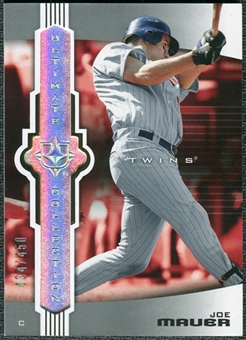 2007 Upper Deck Ultimate Collection #78 Joe Mauer /450