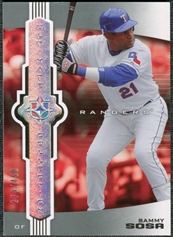 2007 Upper Deck Ultimate Collection #96 Sammy Sosa /450