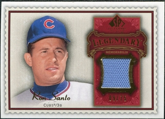 2009 Upper Deck SP Legendary Cuts Legendary Memorabilia Red #SA Ron Santo /75