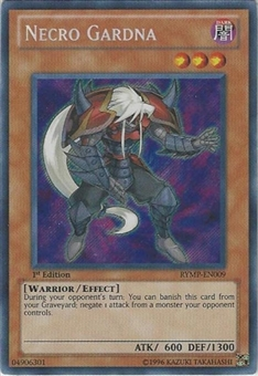 Yu-Gi-Oh Ra Mega Pack Single Necro Gardna Secret Rare